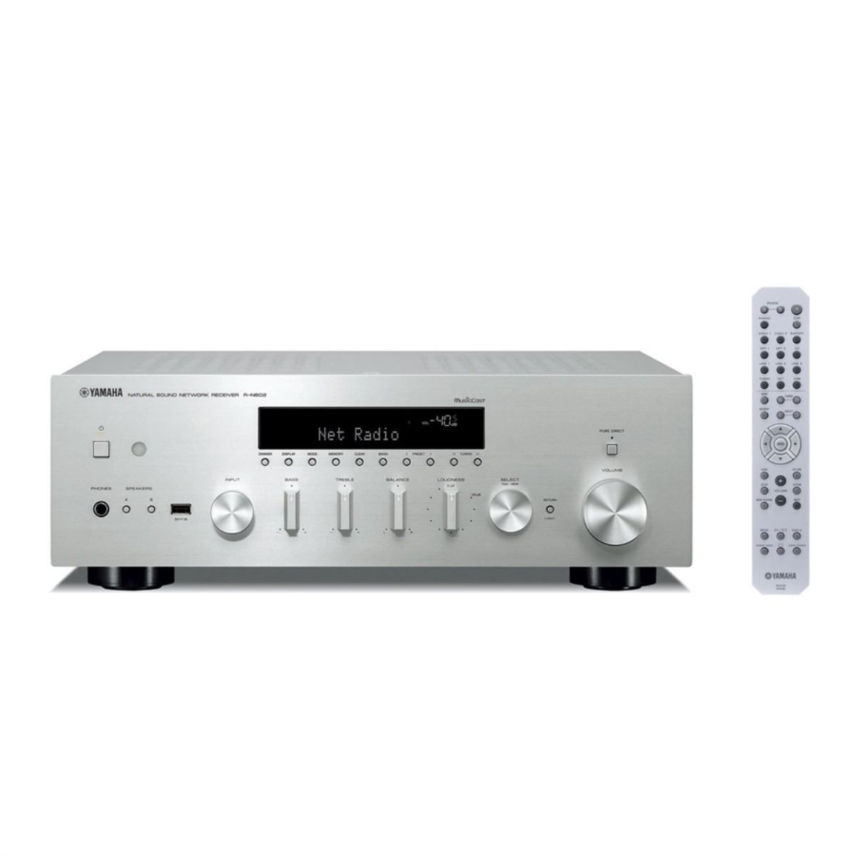 Yamaha RN 602 Stereo Network Ampli   Network Ampliler   Ampliler    Akustahifi